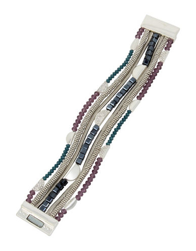 Kenneth Cole New York Faceted Bead Multi-Row Bracelet-MUTLI-One Size