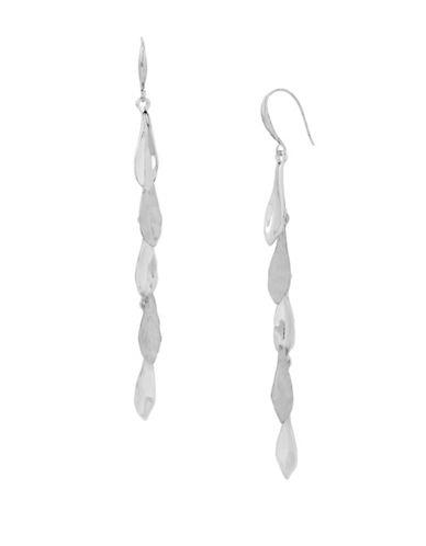 Robert Lee Morris Soho Femme Petal Drop Earrings-SILVER-One Size