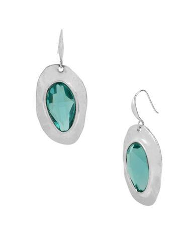 Robert Lee Morris Soho Sculptural Stone Drop Earrings-BLUE-One Size