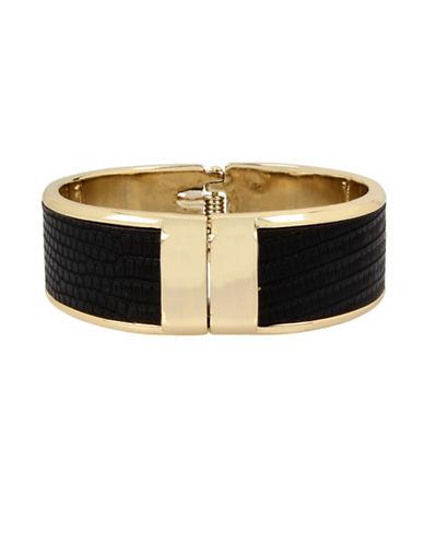 Kenneth Cole New York Hinged Bracelet-BLACK-One Size