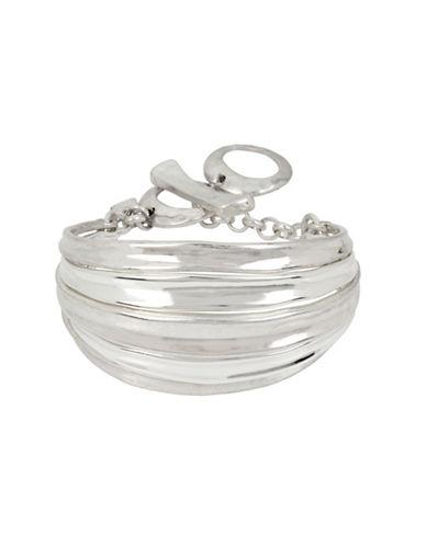 Robert Lee Morris Soho Colour Wheel Flex Bracelet-SILVER-One Size