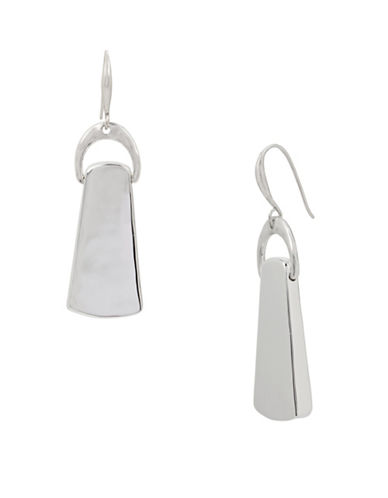 Robert Lee Morris Soho Polished Drop Earrings-SILVER-One Size