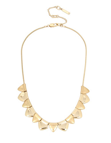 Kenneth Cole New York Goldtone Collar Necklace-GOLD-One Size