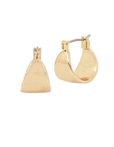Kenneth Cole New York Huggie Hoop Earrings-GOLD-One Size