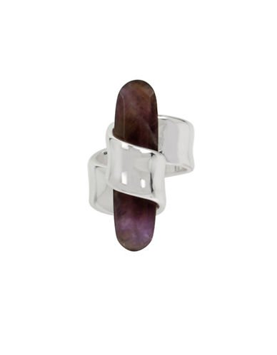 Robert Lee Morris Soho Enfold Amethyst Cocktail Ring-AMETHYST-One Size
