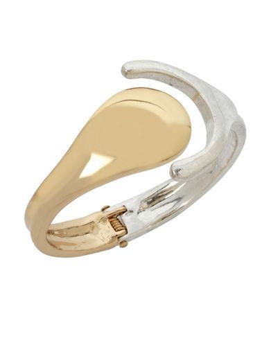 Robert Lee Morris Soho Two-Tone Cuff Bracelet-TWO TONE-One Size