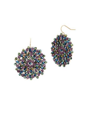 Kenneth Cole New York Beaded Drop Earrings-MULTI-One Size