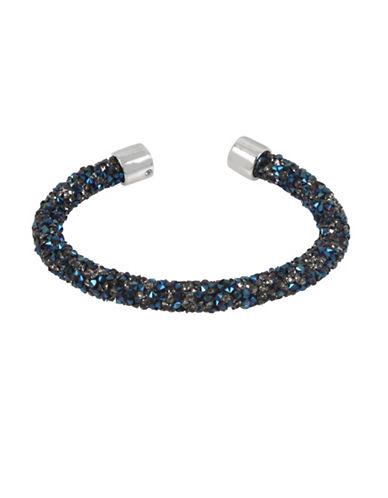Kenneth Cole New York Crystal Cuff Bracelet-BLUE-One Size
