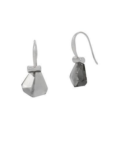 Robert Lee Morris Soho Stone Drop Earrings-SILVER-One Size