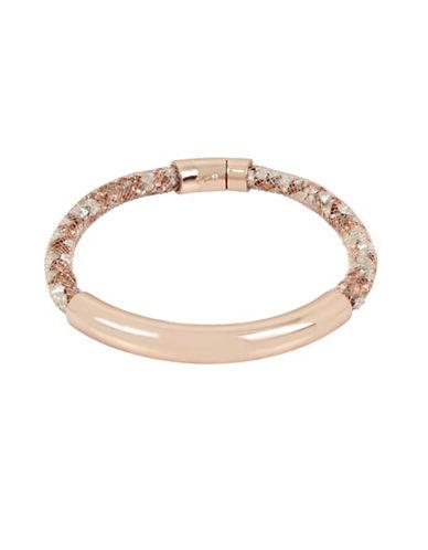 Kenneth Cole New York Crystal Bar Bracelet-ROSE GOLD-One Size