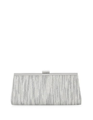 Adrianna Papell Storm Clutch Bag-GREY-One Size