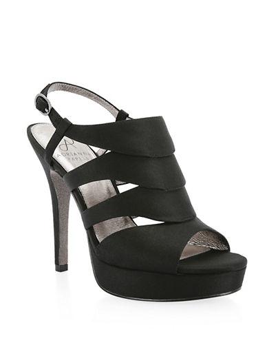 Adrianna Papell Marlene Platform Sandals-BLACK-7