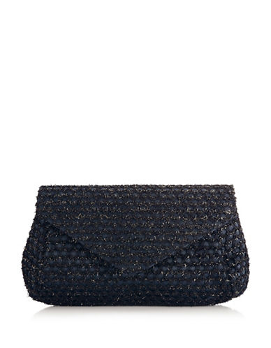 Adrianna Papell Shane Clutch-BLUE-One Size