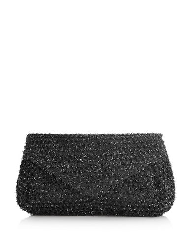 Adrianna Papell Shane Clutch-BLACK-One Size