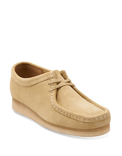 Clarks Originals Suede Moc-Toe Shoes-MAPLE-8.5