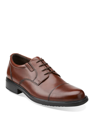 Bostonian Bardwell Limit Shoes-BROWN-11.5