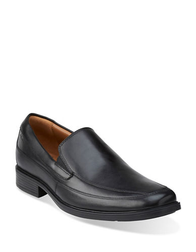 Clarks Tilden Free Slip-On Shoes-BLACK-15