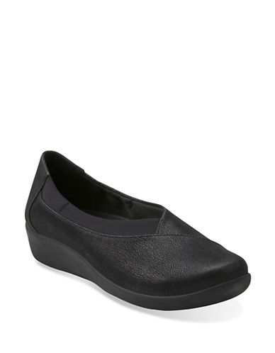 Cloudsteppers By Clarks Sillian Jetay Slip-on Shoes-BLACK-6