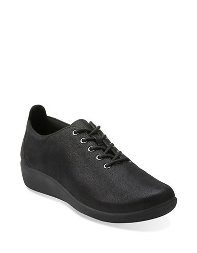 Cloudsteppers By Clarks Sillian Tino Casual Shoes-BLACK-7