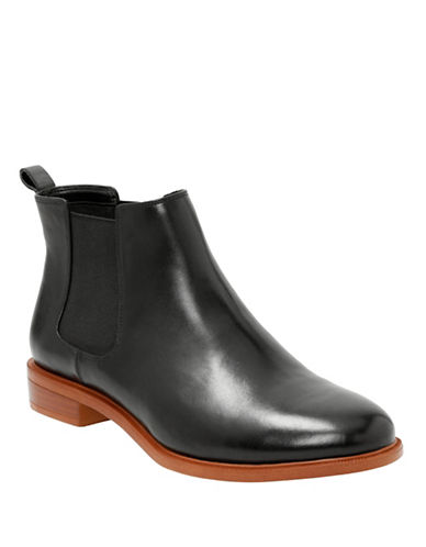 Clarks Taylor Shine Somerset Chelsea Boots-BLACK-9