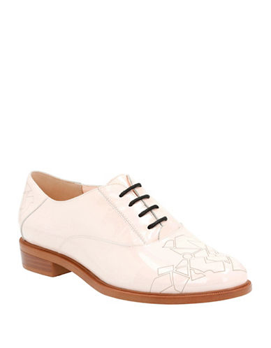 Clarks Patent Leather Oxfords-NUDE PATENT-8 88106574_NUDE PATENT_8