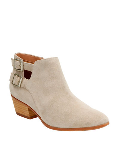 Clarks Artisan Cushion Plus Spye Astro Suede Ankle Boots-BEIGE-7