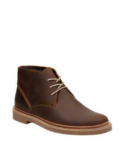 Clarks Bushacre Ridge Boots-BEESWAX-10.5