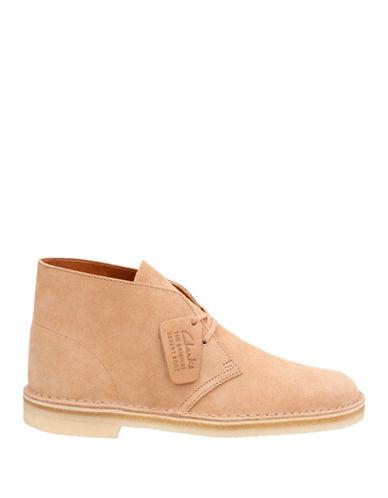 Clarks Originals Desert Suede Boots-BROWN-10.5