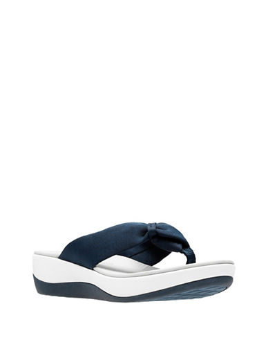 Cloudsteppers By Clarks CushionSoft Cloudsteppers Arla Glison Flip Flops-BLUE-10