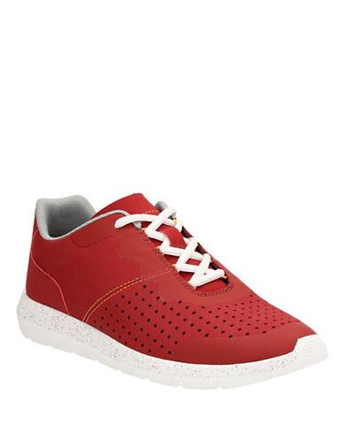 Clarks Torset Vibe Sport Sneakers-RED-9