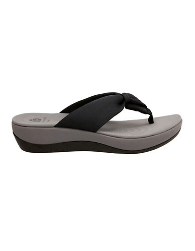 Cloudsteppers By Clarks CushionSoft Cloudsteppers Arla Glison Flip Flops-RED-6
