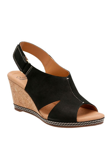 Clarks Helio Float 4 Leather Sandals-BLACK-7