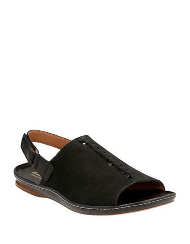 Clarks Artisan Sarla Forte Sandals-BLACK-8