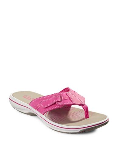 Clarks BRINKLEYBREE Flip Flops-PINK-6