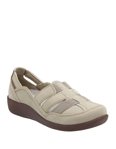 Cloudsteppers By Clarks Sillian Stork Cloudsteppers Shoes-SAND-9.5