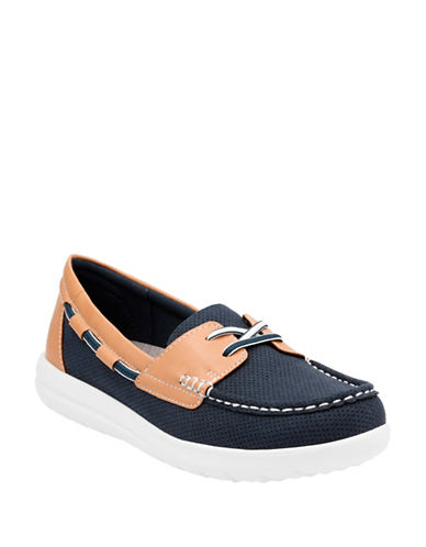 Cloudsteppers By Clarks Jocolinvista Loafers-NAVY-5