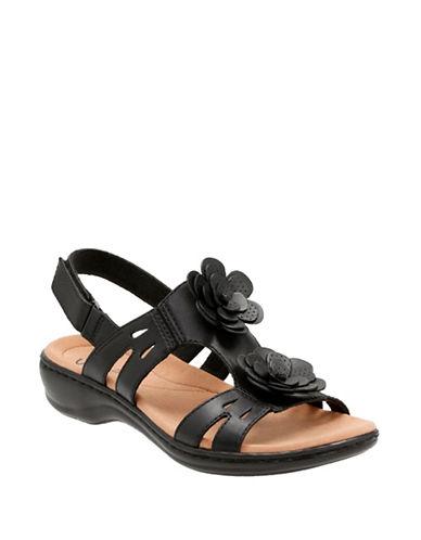 Clarks Leisa Claytin Sandals-BLACK-9