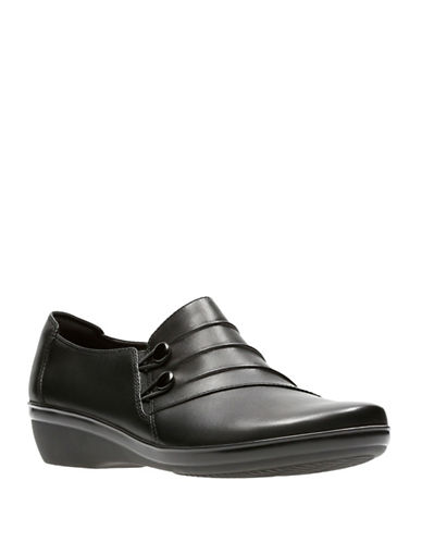 Clarks Everylay Romy Shoes-BLACK-8.5