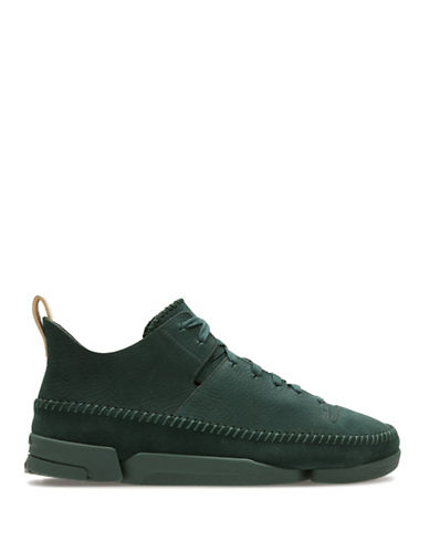 Clarks Originals Trigenic Flex Athletic Sneakers-GREEN-7.5