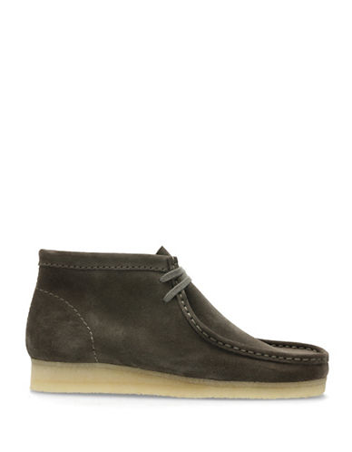 Clarks Originals Wallabee Chukka Boots-GREY-10.5