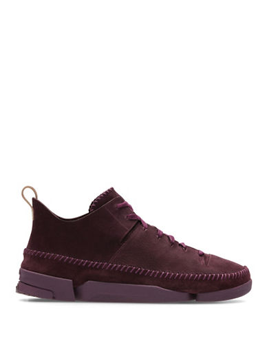Clarks Originals Trigenic Flex Sneakers-PURPLE-9