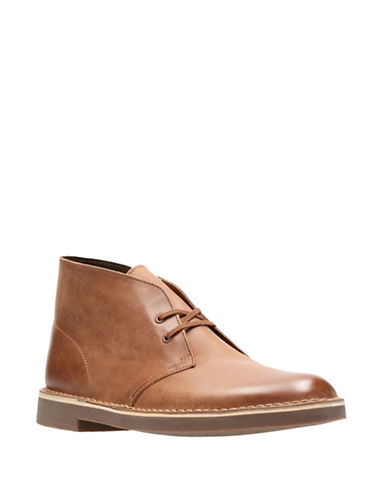 Clarks Bushacre 2 Chukka Boots-BROWN-11