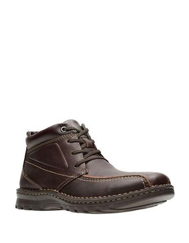 Clarks Vanek Rise Boots-BROWN-11