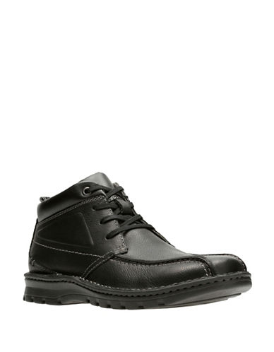 Clarks Vanek Rise Boots-BLACK-13
