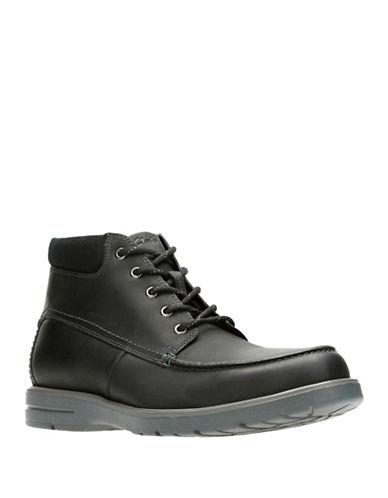 Clarks Vossen Ankle Boots-BLACK-12