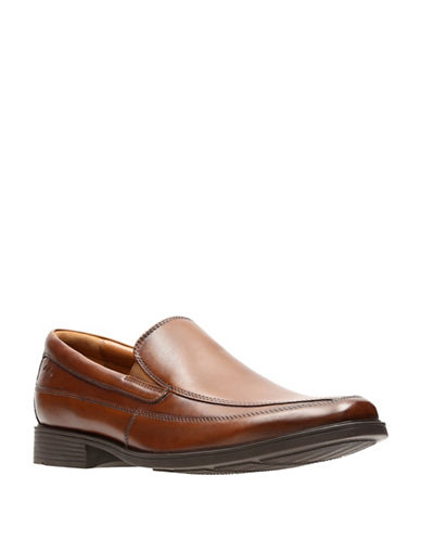 Clarks Tilden Free Loafers-BROWN-12