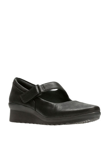 Cloudsteppers By Clarks Caddell Yale Mary Janes-BLACK-10