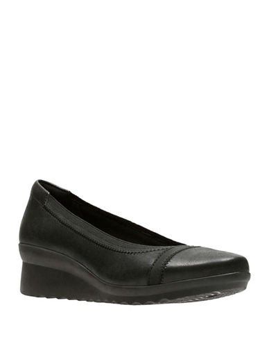 Cloudsteppers By Clarks Caddell Dash Flats-BLACK-5