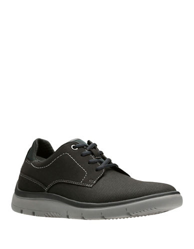 Clarks Tunsil Casual Shoes-BLACK-12