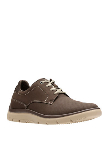 Clarks Tunsil Casual Shoes-BROWN-12